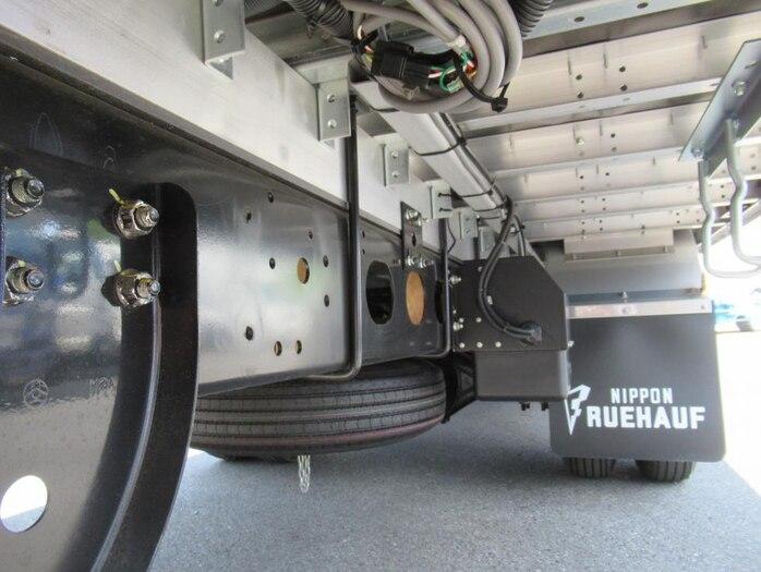 三菱 ファイター 中型 ウイング ベッド 2KG-FK62F|架装 フルハーフ トラック 画像 トラックバンク掲載