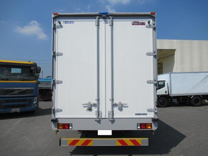 三菱 ファイター 中型 ウイング ベッド 2KG-FK62F|トラック 背面・荷台画像 トラック市掲載
