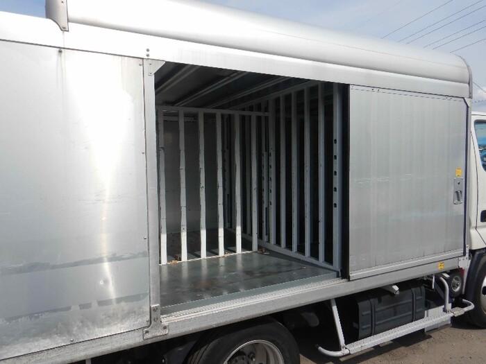日野 デュトロ 小型 アルミバン ボトルカー サイドドア リサイクル券 8,820円 トラック 画像 トラック市掲載