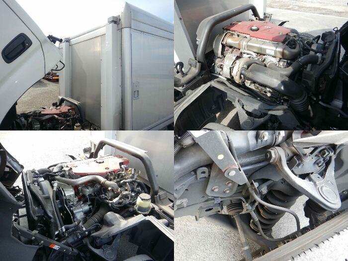 日野 デュトロ 小型 アルミバン ボトルカー サイドドア 車検  トラック 画像 キントラ掲載