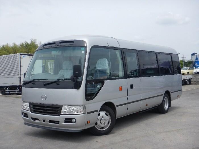 日野 リエッセ 小型 バス マイクロバス SDG-XZB51M|トラック 左前画像 トラックバンク掲載