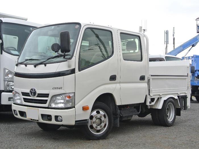 トヨタ ダイナ 小型 平ボディ Wキャブ パワーゲート|画像1