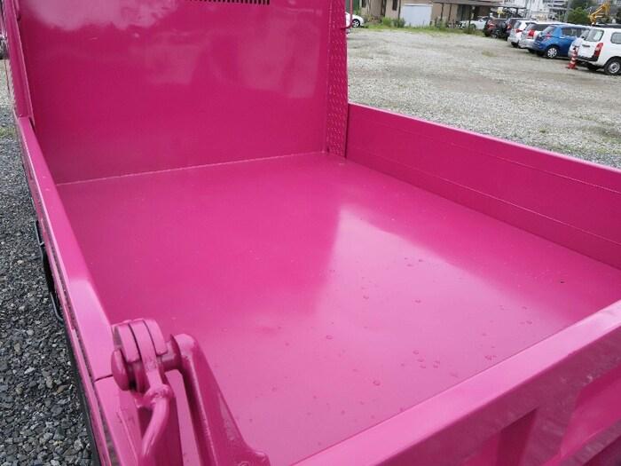 三菱 キャンター 小型 ダンプ Wキャブ BKG-FE7BSD|荷台 床の状態 トラック 画像 トラックサミット掲載