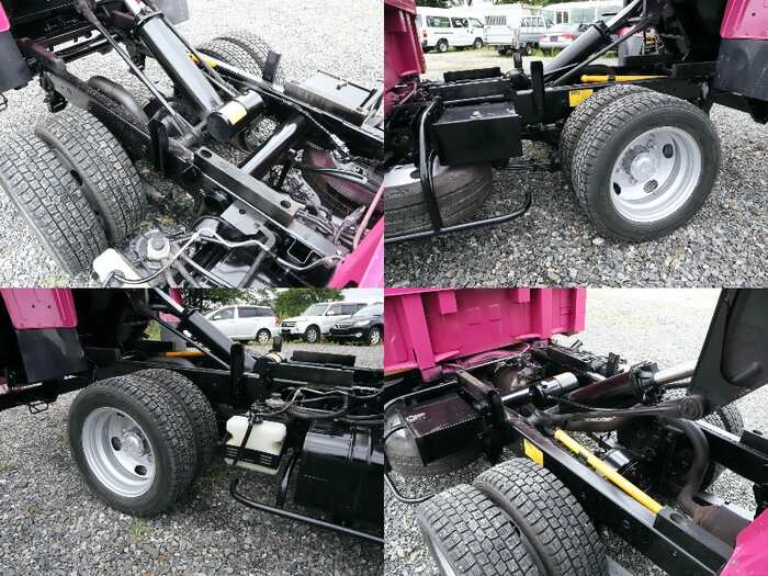 三菱 キャンター 小型 ダンプ Wキャブ BKG-FE7BSD|走行距離 3.4万km トラック 画像 トラックランド掲載