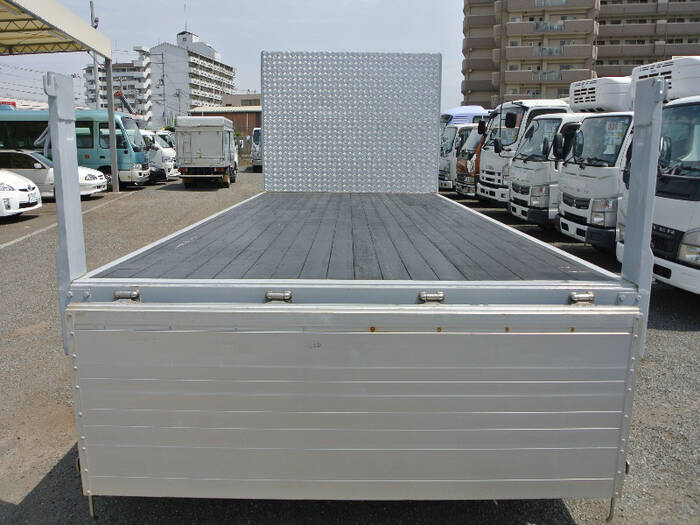 いすゞ フォワード 中型 平ボディ アルミブロック TKG-FRR90S2 画像4