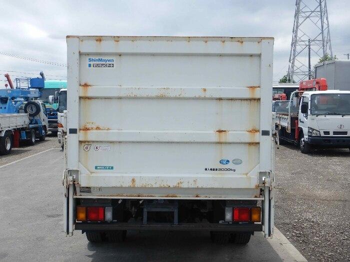 いすゞ エルフ 小型 平ボディ パワーゲート SKG-NMR85R トラック 背面・荷台画像 トラック市掲載
