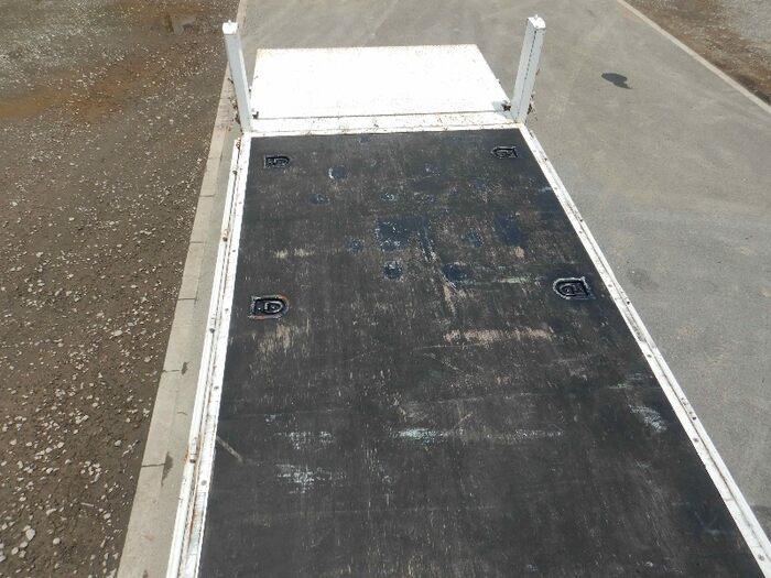 いすゞ エルフ 小型 平ボディ パワーゲート SKG-NMR85R フロントガラス トラック 画像 トラック王国掲載