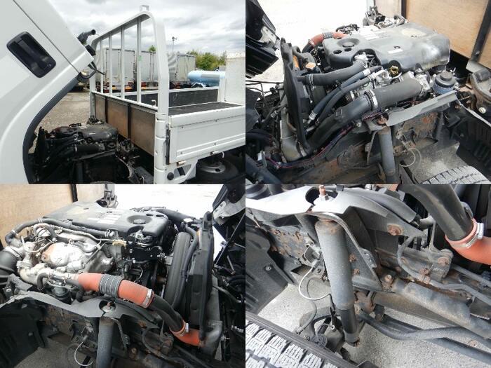 いすゞ エルフ 小型 平ボディ パワーゲート SKG-NMR85R 走行距離 7.8万km トラック 画像 トラックランド掲載