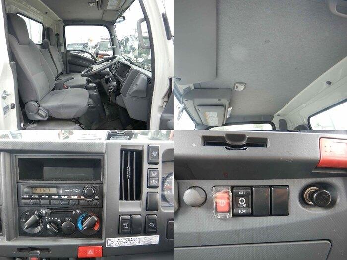 いすゞ エルフ 小型 平ボディ パワーゲート SKG-NMR85R 架装 新明和 トラック 画像 トラックバンク掲載