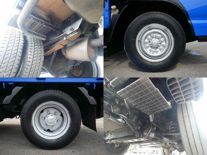 マツダ タイタン 小型 平ボディ パワーゲート 床鉄板|型式 BKG-LJR85A トラック 画像 栗山自動車掲載