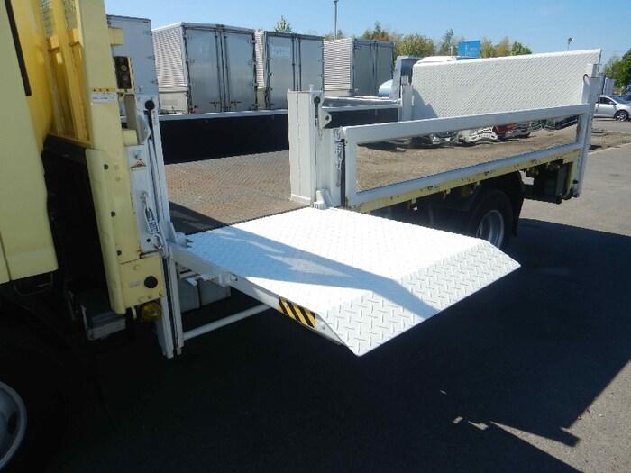 いすゞ エルフ 小型 平ボディ パワーゲート 床鉄板|画像6