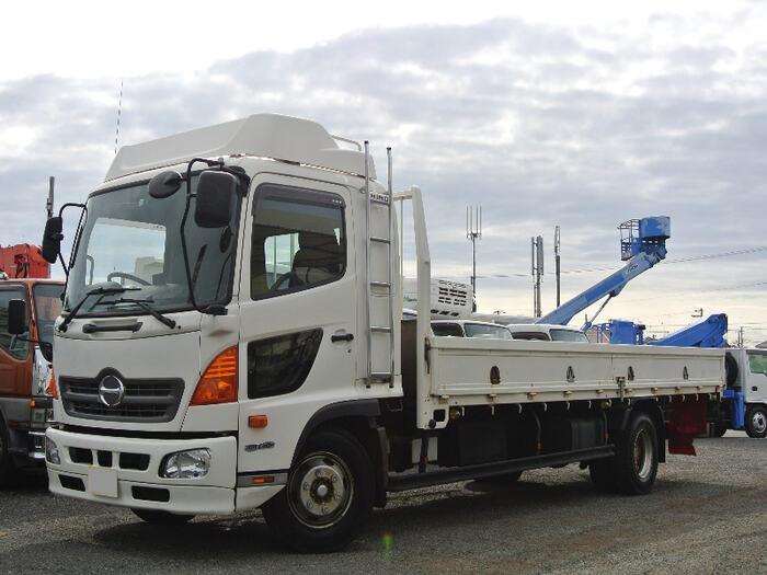 中古 平ボディ中型 日野レンジャー トラック H26 TKG-FD9JLAA