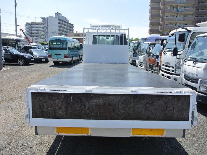 日産UD コンドル 中型 平ボディ 床鉄板 ベッド|画像4