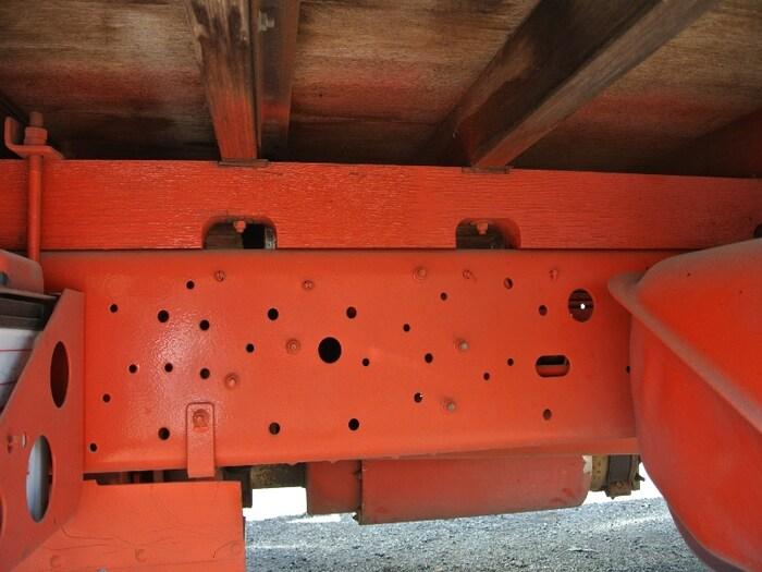 日産UD コンドル 中型 平ボディ 床鉄板 ベッド|画像13