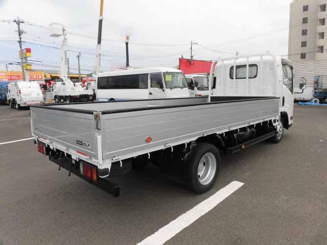 いすゞ エルフ 小型 平ボディ アルミブロック TKG-NLR85AR|画像2