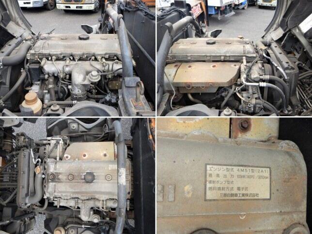 三菱 キャンター 小型 高所・建柱車 高所作業車 KK-FE73EB 画像10