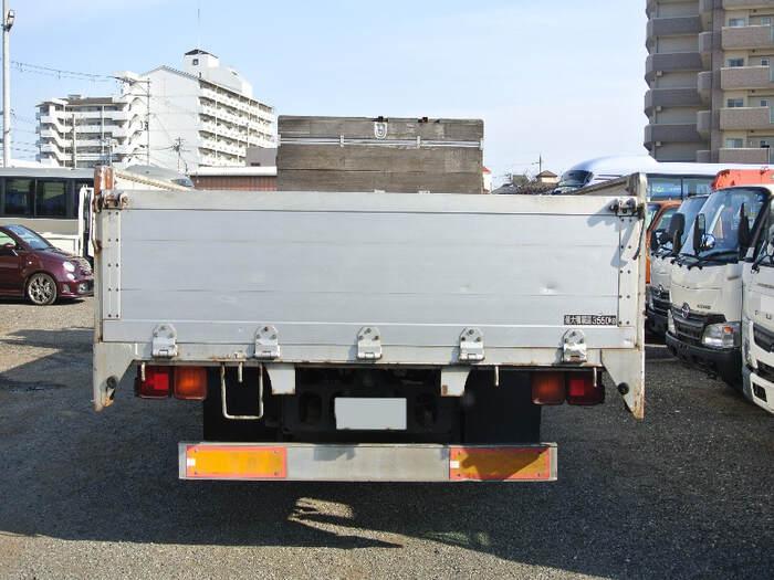 三菱 ファイター 中型 平ボディ 床鉄板 アルミブロック|画像3