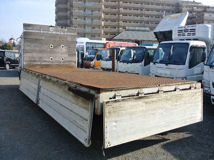 三菱 ファイター 中型 平ボディ 床鉄板 アルミブロック|画像2