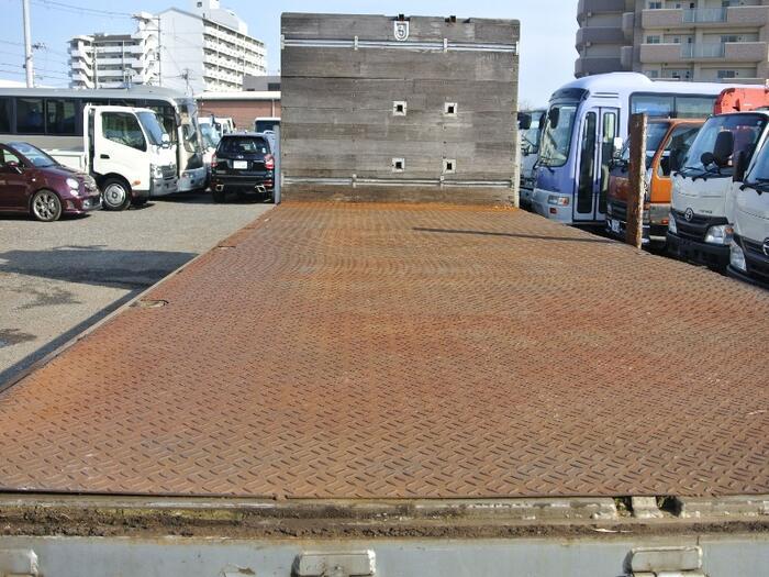 三菱 ファイター 中型 平ボディ 床鉄板 アルミブロック|画像4