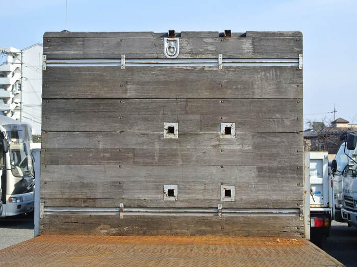 三菱 ファイター 中型 平ボディ 床鉄板 アルミブロック|画像5