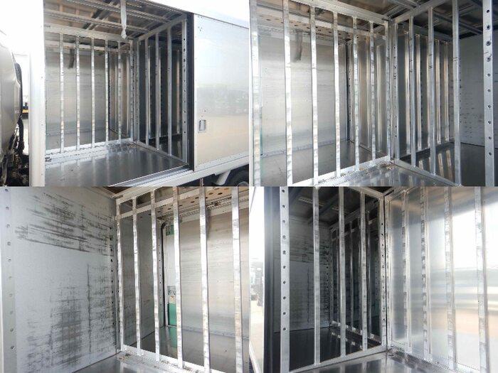 三菱 キャンター 小型 アルミバン ボトルカー サイドドア|画像8