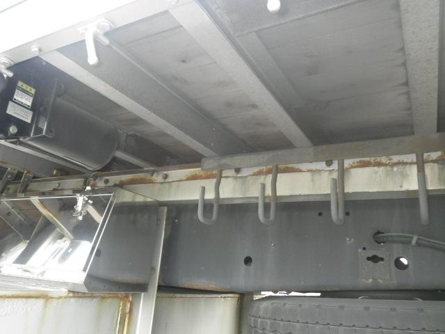 日野 プロフィア 大型 平ボディ 床鉄板 アルミブロック 画像9