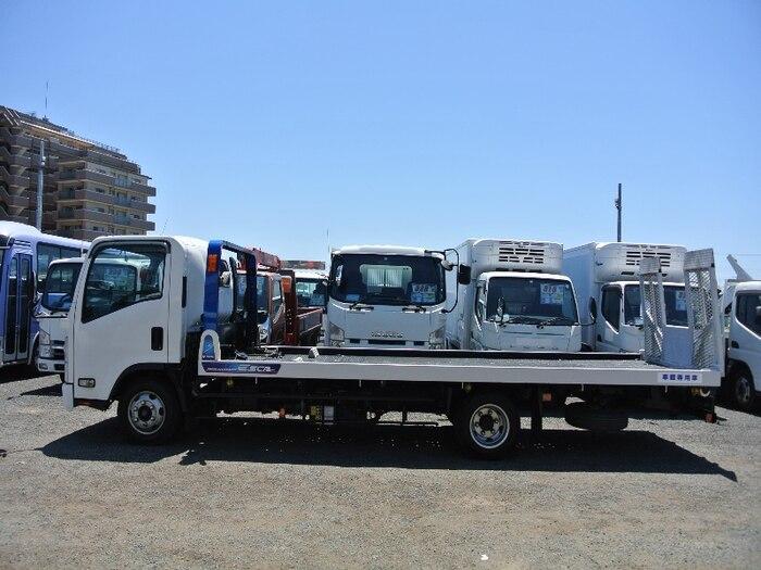 いすゞ エルフ 小型 車輌重機運搬 ラジコン ウインチ|画像2