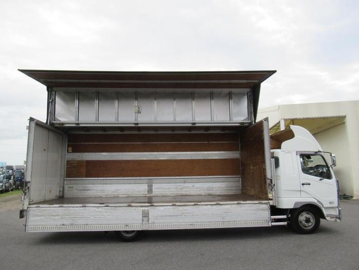三菱 ファイター 中型 ウイング ベッド PA-FK61R 画像4