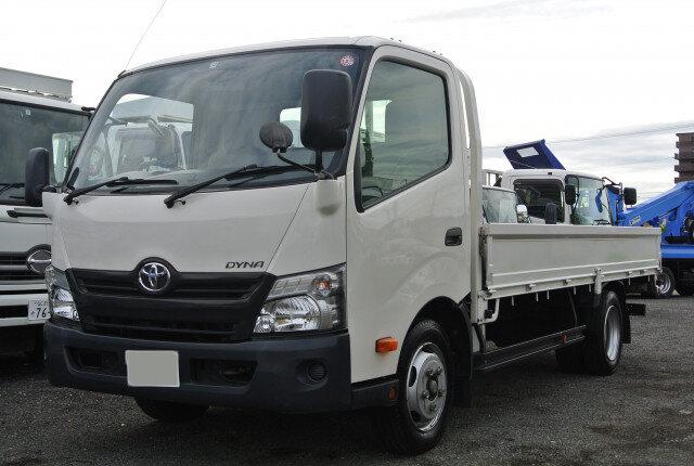 トヨタ ダイナ 小型 平ボディ TKG-XZU710 H27|画像1