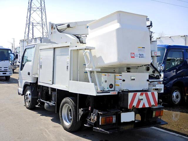 いすゞ エルフ 小型 高所・建柱車 高所作業車 PB-NKR81AN 画像4