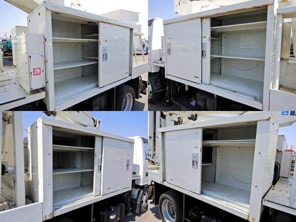 いすゞ エルフ 小型 高所・建柱車 高所作業車 PB-NKR81AN 画像6