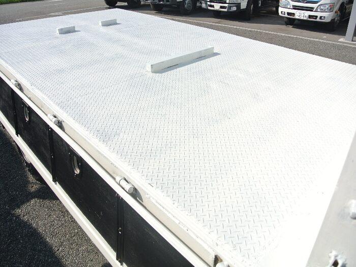 三菱 ファイター 中型 平ボディ 床鉄板 KK-FK71GD|画像5