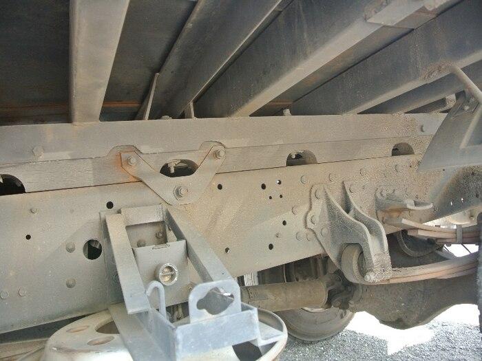 三菱 ファイター 中型 平ボディ 床鉄板 KK-FK71GD|画像11
