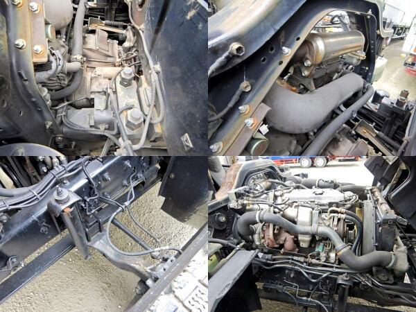 いすゞ フォワード 中型 クレーン付 ヒアブ エアサス 画像14
