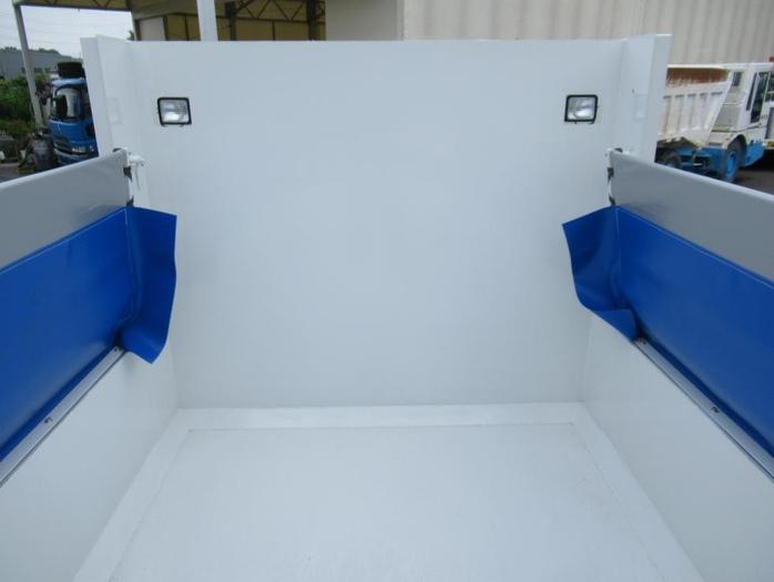 三菱 ファイター 中型 ダンプ コボレーン ベッド 画像3