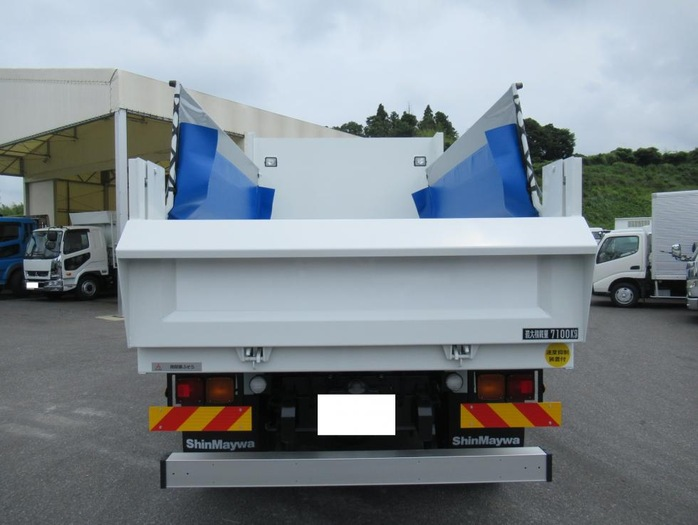 三菱 ファイター 中型 ダンプ コボレーン ベッド 画像5
