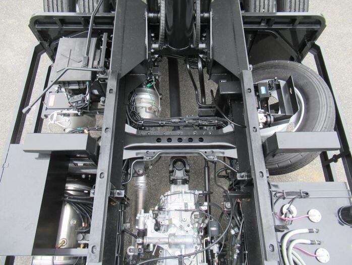 三菱 ファイター 中型 ダンプ コボレーン ベッド|画像17