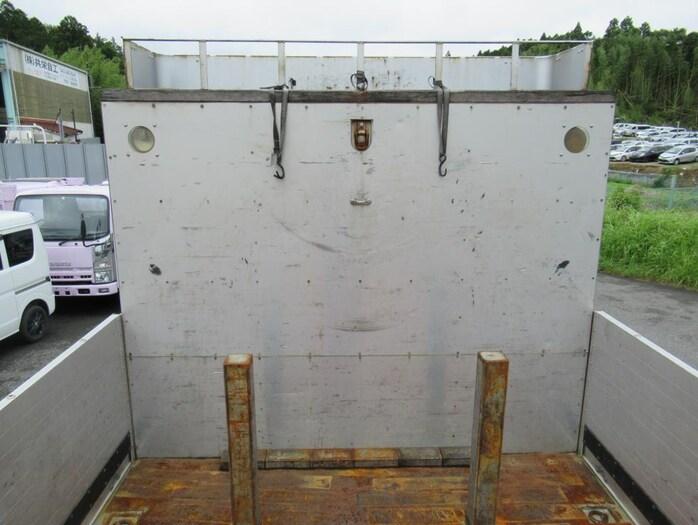 いすゞ ギガ 大型 平ボディ 床鉄板 アルミブロック|画像6
