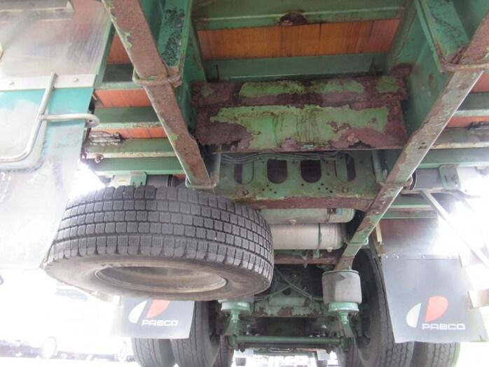 いすゞ ギガ 大型 平ボディ 床鉄板 アルミブロック|画像14