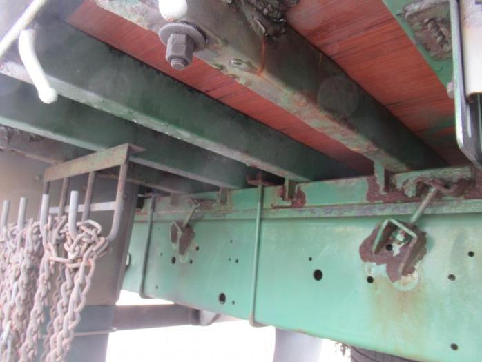 いすゞ ギガ 大型 平ボディ 床鉄板 アルミブロック|画像15