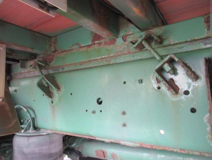 いすゞ ギガ 大型 平ボディ 床鉄板 アルミブロック|画像18