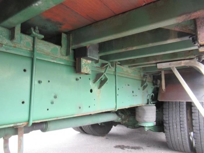 いすゞ ギガ 大型 平ボディ 床鉄板 アルミブロック|画像19