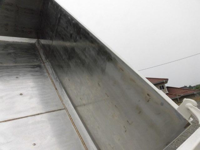 三菱 ファイター 中型 ダンプ 土砂禁 ステンレス張り|画像9