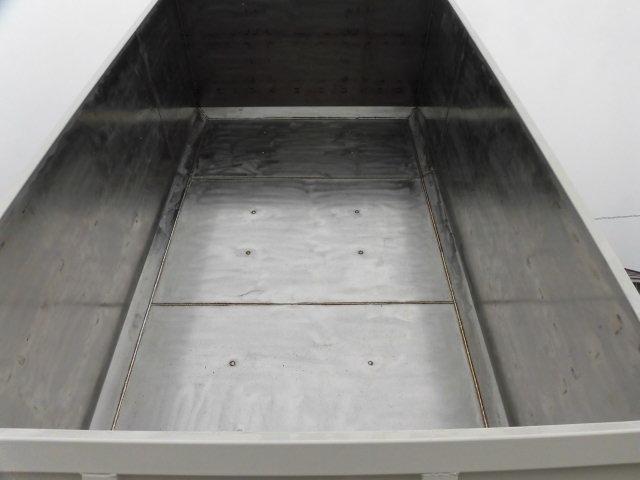 三菱 ファイター 中型 ダンプ 土砂禁 ステンレス張り|画像3