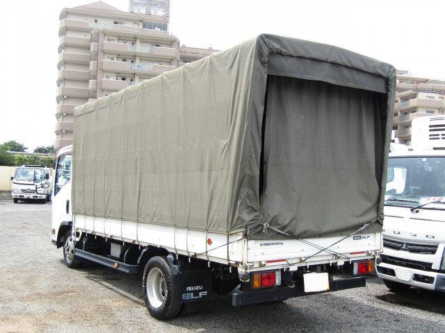 いすゞ エルフ 小型 平ボディ 幌 TKG-NLR85AR 画像2