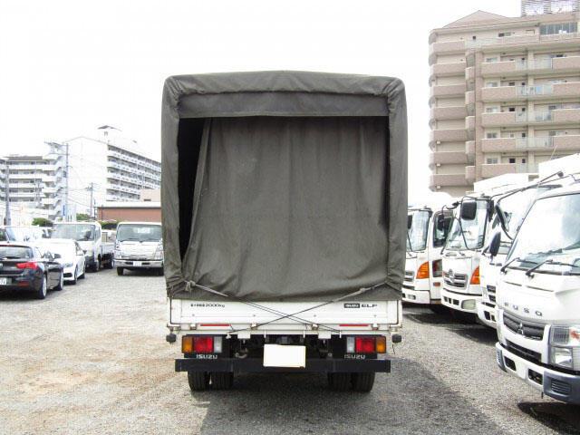 いすゞ エルフ 小型 平ボディ 幌 TKG-NLR85AR 画像3