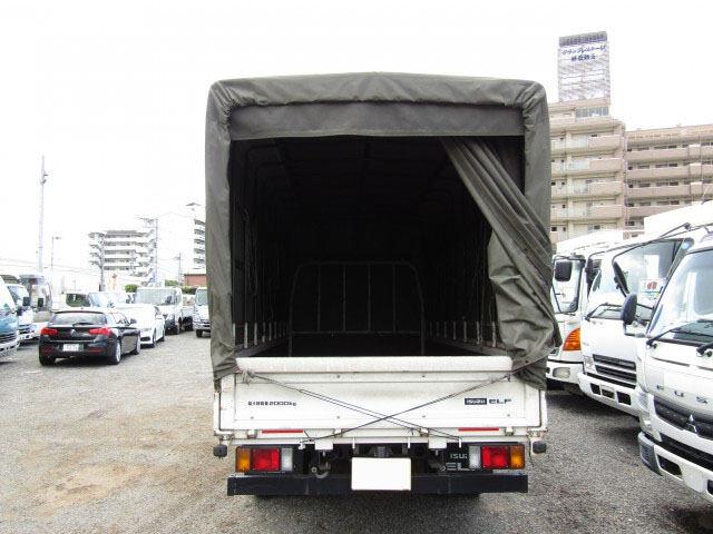 いすゞ エルフ 小型 平ボディ 幌 TKG-NLR85AR 画像4