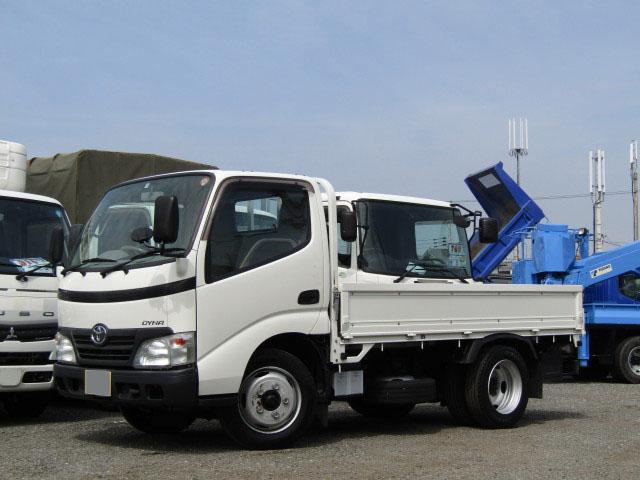 トヨタ ダイナ 小型 平ボディ BDG-XZU304 H20|画像1