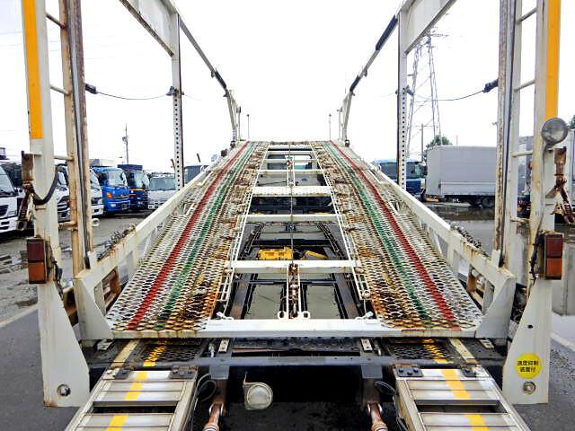 日野 レンジャー 中型 車輌重機運搬 エアサス ベッド|画像4