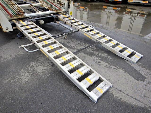 日野 レンジャー 中型 車輌重機運搬 エアサス ベッド|画像9